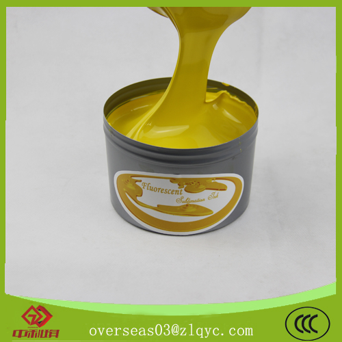 fluorescent ink for sublimation offset