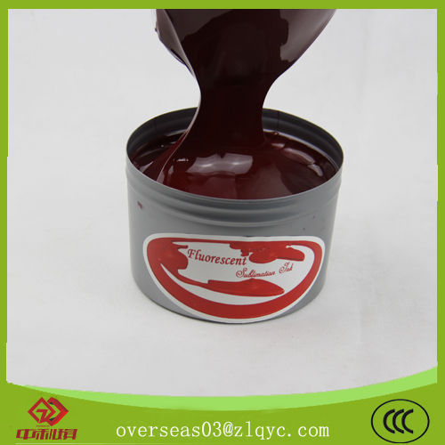 fluorescent heat transfer sublimation ink for