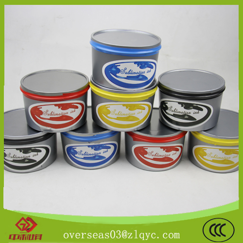 sublimatic transfer offset ink---zhongliqi