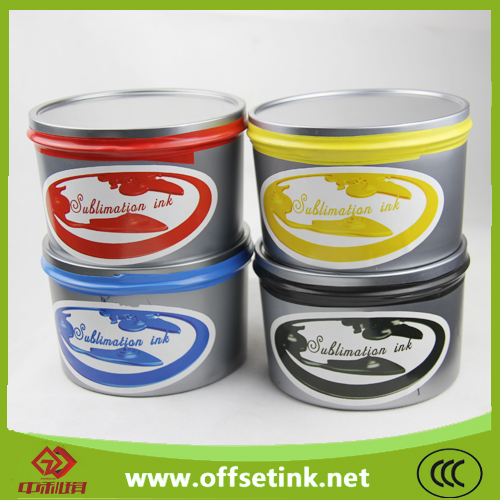 Offset Sublimation Transfer Printing Ink (1kg/tin)